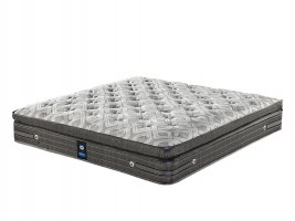 Sealy Posturepedic - Claris Plush - King Size Mattress [Extra Length]