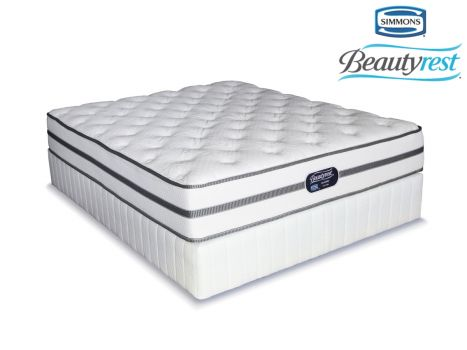 Simmons Beautyrest Classic Firm Queen Size Bed Set