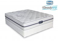 Simmons Beautyrest - Recharge Ultra - Firm - Queen Size Bed Set [Extra length]