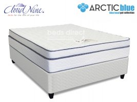 Cloud Nine - Chiroflex BT - Queen Size Mattress [Extra Length] + FREE BASE