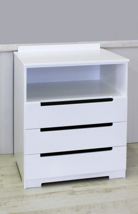 3 Drawer + Shelf Chest of Drawers