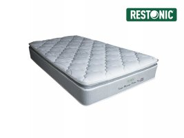 Restonic - Idaho Memory Pillow Top - Single Mattress [Extra Length]