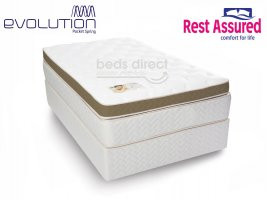 Rest Assured - Cambridge - Single Bed Set [Extra Length]