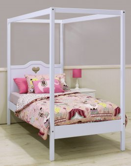 Pixie 4 Poster Bed - 91cm