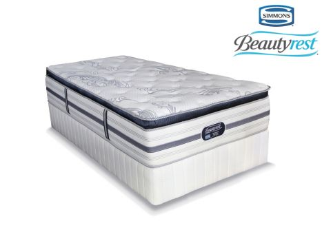 Simmons Beautyrest - Recharge Ultra - Luxury Pillow Top - Three Quarter Bed Set