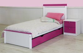Essentials - Willo Bedroom Suite with Slide Out Under-bed