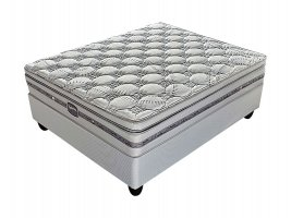 Slumberland - Springfield Plush - Queen Bed Set [Extra Length]