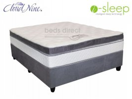 Cloud Nine - Grande BT - Queen Size Mattress + FREE Universal Suede Base