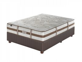 Sealy Posturepedic - Crown Jewel - Tranquil Medium - Queen Size Bed Set (Demo Model) [Jhb/Pta Only]