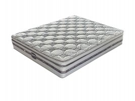 Slumberland - Springfield Plush - Double Mattress [Extra Length]