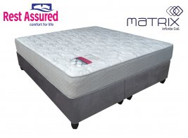 Rest Assured - Vito - King Size Mattress On Universal Suede Base (Jhb/Pta Only)