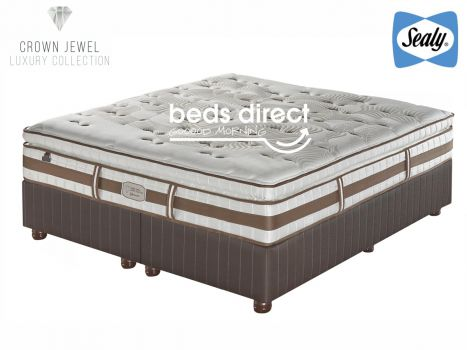 Sealy Posturepedic Crown Jewel Tranquil Plush King Size Bed