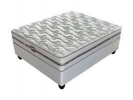 Slumberland - Kendal Firm - Double Bed Set [Extra Length]