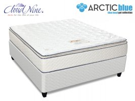 Cloud Nine - Blue Eclipse NT - Queen Size Mattress + FREE BASE