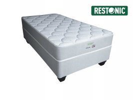 Restonic - Alaska Firm - Single Bed Set