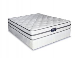 Simmons Beautyrest - Classic - Firm - Queen Size Bed Set [Extra Length]