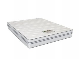 Cloud Nine - Epic Comfort - Queen Size Mattress [Extra Length] + 2 Pillows