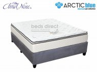 Cloud Nine - Blue Eclipse NT - Double Mattress + FREE Universal Suede Base