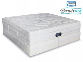 Simmons Beautyrest - Hybrid Plush Crescendo - King Size Bed Set