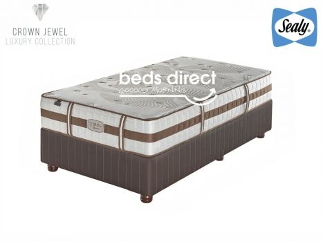 Sealy Posturepedic - Crown Jewel - Romance Pocket Firm - Three Quarter Bed Set