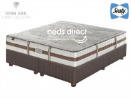 Sealy Posturepedic - Crown Jewel - Tranquil Medium - King Size Bed Set [Extra Length]