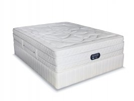Simmons Beautyrest - Hybrid Plush Crescendo - Double Bed Set