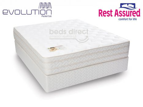 Rest Assured - St Andrews - Queen Size Bed Set [Extra Length]