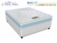 Cloud Nine - Blue 50th Anniversary – Queen Size Bed Set