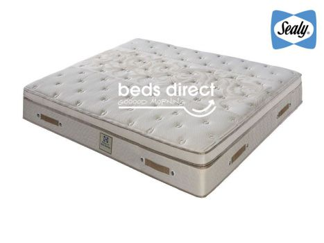 Sealy Posturepedic - Lyon Gel Pamper Top - King Size Mattress [Extra Length]