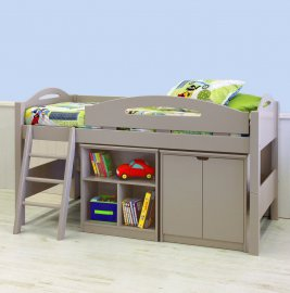 Lowline Loft Bed Suite (Doors) - 91cm