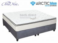 Cloud Nine - Blue Eclipse NT - King Size Mattress [Extra Length] + FREE Universal Suede Base