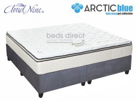 Cloud Nine - Blue Eclipse NT - King Size Mattress + FREE Universal Suede Base