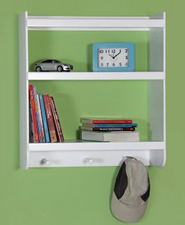 Wall Shelf Display - 3 Shelf/Peg