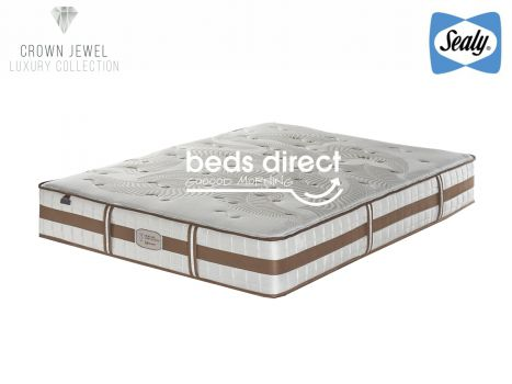 Sealy Posturepedic - Crown Jewel - Tranquil Firm - Queen Size Mattress [Extra Length]