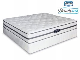 Simmons Beautyrest - Classic - Plush - King Size Bed Set [Extra Length]