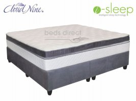 Cloud Nine - Grande BT - King Size Mattress + FREE Universal Suede Base