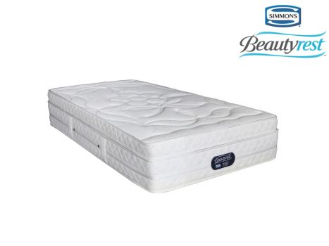 Simmons Beautyrest - Hybrid Plush Crescendo - Three Quarter Mattress