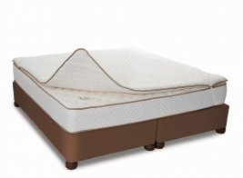 Cloud Nine - Mattress Overlay - Blue Gel Memory Foam [Extra Length]