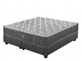 Sealy Posturepedic - Rialto X-Firm Pocket - King Size Bed Set [Extra Length]