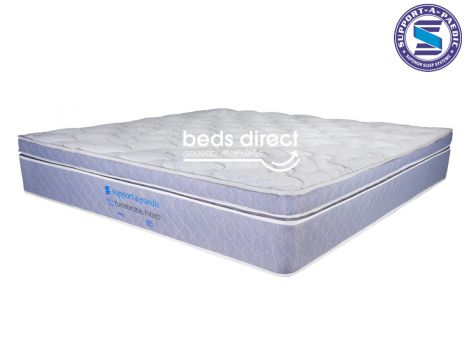 Support-a-Paedic - Platinum Seal - Latex - King Size Mattress [Extra Length]
