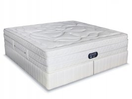 Simmons Beautyrest - Hybrid Plush Crescendo - King Size Bed Set [Extra Length]