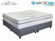 Cloud Nine - Chiroflex BT - King Size Mattress [Extra Length] + FREE Universal Suede Base