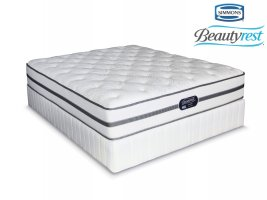 Simmons Beautyrest - Classic - Plush - Double Bed Set