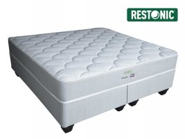 Restonic - Alaska Firm - King Size Bed Set