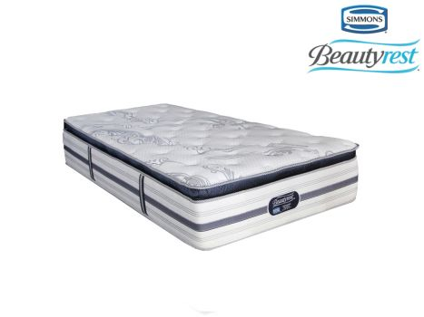 Simmons Beautyrest - Recharge Ultra - Luxury Pillow Top - Three Quarter Mattress [Extra Length]