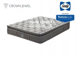 Sealy Posturepedic - Rialto Medium Pocket - Queen Size Mattress [Extra Length]