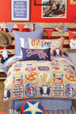 Duvet Cover Set - Rodeo - 3/4
