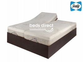 Sealy Posturematic - 300 Series Motion - King Size Bed Set [Extra Length]