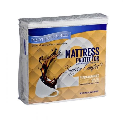 Protect-A-Bed - Superior Comfort - Waterproof Mattress Protector - Single