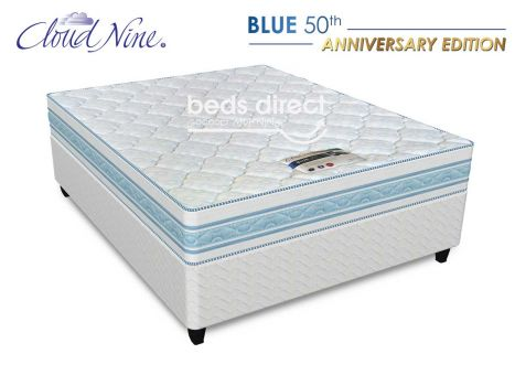 Cloud Nine - Classic Blue 50th Anniversary - Double Bed Set (Jhb/Pta Only)